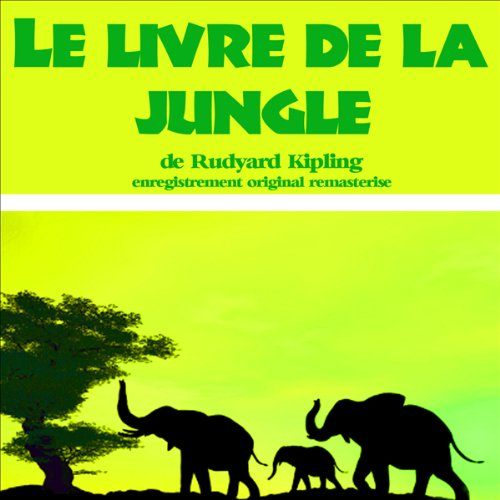 Le livre de la jungle audiobook cover art