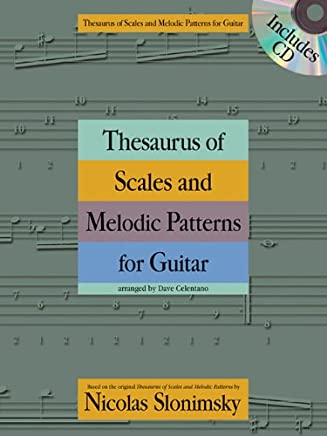 Thesaurus of Scales and Melodic Patterns for Guitar [Lingua inglese]