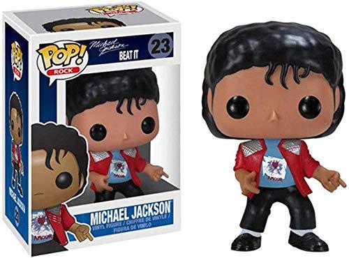 TYRIXEN Funko Pop Michael Jackson Figura de Vinilo 10 cm Arte Recuerdo Juguete Coleccionable estatuas de Marionetas de Anime-re