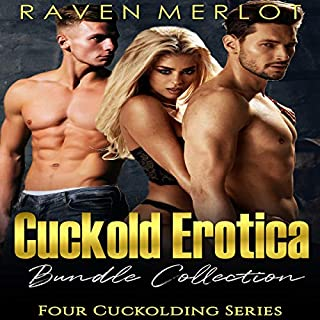 Cuckold Erotica Bundle Collection: Four Cuckolding Series with Hot Forbidden Adult Stories                   By:                                                                                                                                 Raven Merlot                               Narrated by:                                                                                                                                 Ruby Rivers                      Length: 17 hrs and 41 mins     13 ratings     Overall 4.4