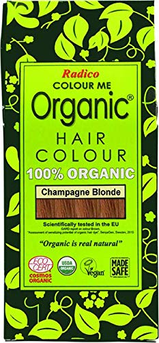 Radico Colour Me Organic Pflanzenhaarfarbe Champagner-Blond (bio, vegan, Naturkosmetik) ChampBl
