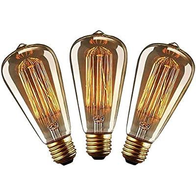 ➤ Cheap 'YUENSLIGHTING Vintage Edison Light Bulb Retro Old