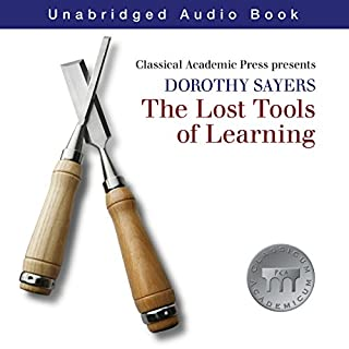 Dorothy Sayers: Lost Tools of Learning audiobook cover art