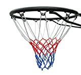 Official Size (45 Centimeter ) Basketball Ring, Hoop Net and Wall Mounting Fixings