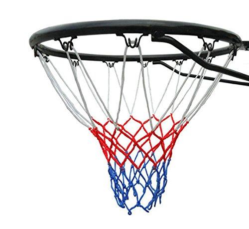 Bee Ball Basketballkorb, offizielle Größe (45 cm), Basketballring, Netz und Wandhalterung Geeignet für Erwachsene und Kinder