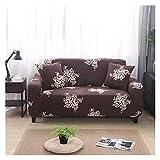 WXJ Cubierta Colorida geométrica del sofá de la impresión Cubierta elástica de la Cubierta del sofá Anti-Sucio Sofá de la Toalla de la Cubierta del sofá (Color : 14, Specification : 3 Seat 190 230CM)