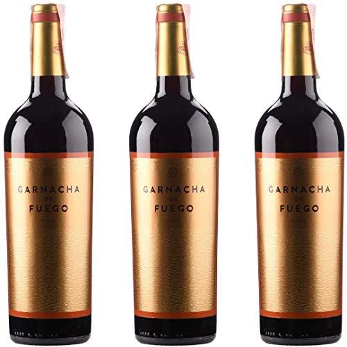 Garnacha De Fuego Vino Tinto - 3 botellas x 750ml - total: 2250 ml