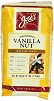 Jose's Whole Bean Coffee Vanilla Nut 3 Lbs