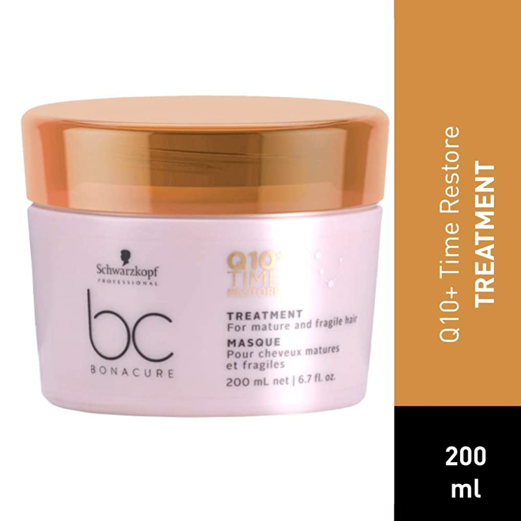悪化させる歴史肯定的シュワルツコフ BC Bonacure Q10+ Time Restore Treatment (For Mature and Fragile Hair) 200ml/6.7oz並行輸入品