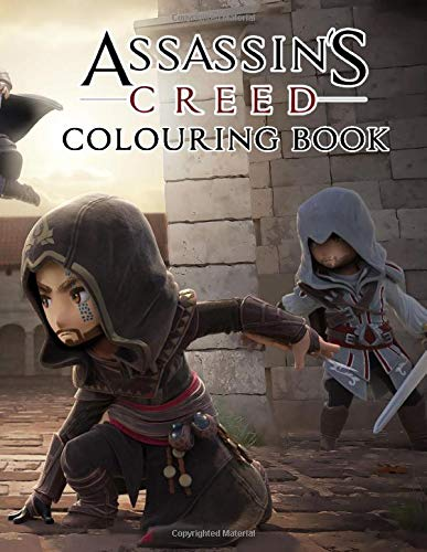 Assassin's Creed Colouring Book: Live in the world of Assassin's Creed