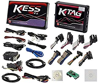 Kess v2 V5.017 OBD2+Ktag V7.020 Red PCB No Token Limited ECU Programming Tool