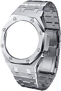 GA2100 Metal Watch Band Strap Bezel 3rd Replacement Accessories for Casio G-Shock GA-2100/GA-2110