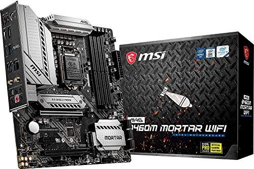 MSI - MAG B460M Mortar Wifi - Placa Base Arsenal Gaming (10th Gen Intel Core, LGA...