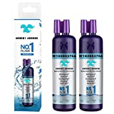 9081 Water Filter Replacement for Refrigerator Water Filter Kenmore 9930, 46-9930, 9081, 46-9081(2 Packs)