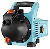 GARDENA Gartenpumpe Classic 3000/4: Bewässerungspumpe für den Einsatz im Freien, mit 3100 l/h Fördermenge, geräuscharm und langlebig, mit Wasser-Ablassschraube, wartungsfrei, hohe...