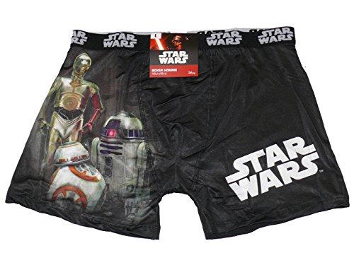 Star Wars Boxershorts Star Wars VII R2D2C3PO Droide BB8 Gr. S, mehrfarbig
