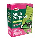 Doff Multi-Purpose Grass Seed High Germination Rate for Spring and Summer Seeding, 1 x Doff Multipurpose Lawn Seed 1kg by Thompson and Morgan