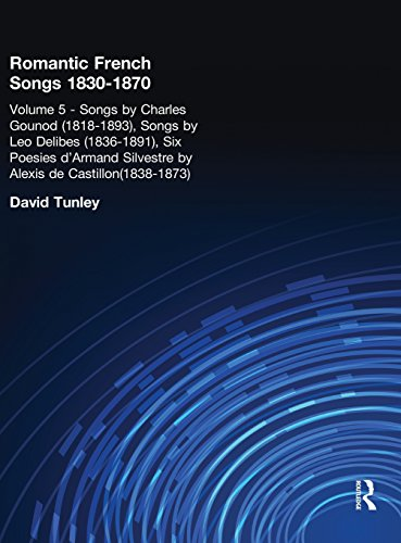 Songs by Charles Gounod (1818-1893), Songs by Lo Delibes (1836-1891), Six Posies d'Armand Silvestre by Alexis de Castillon (1838-1873): 005