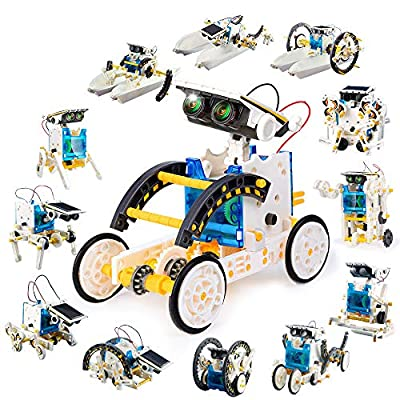 ORWINE 13-in-1 STEM Toys for 8 Year Olds Kids Educational Solar Robot Toys Science Experiment Kit STEM Toys Solar Power Robotics Puzzle Building Toys for Kids Boys Girls Age 8 9 10 11 12 Science Lover
