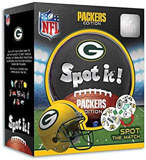 MasterPieces NFL Spot It! Green Bay Packers Edition