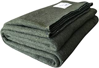 Woolly Mammoth Woolen Co. | Extra Large Merino Wool Camp Blanket | The Perfect Outdoor Gear Bedroll for Bushcraft, Camping, Trekking, Hiking, Survival, or Throw Blanket at The Cabin.