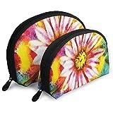 Blühende Peyote Blume abstrakte blütenblatt floral tragbare Taschen Make-up Tasche kulturbeutel...