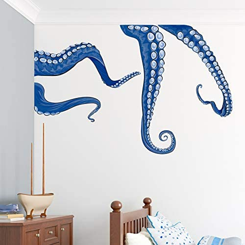 Wallums Octopus Tentacles Printed Max 67% OFF - Decal Repositionable Wall 2021 autumn and winter new