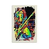 jiandan Cliff Burton Metallica Poster, dekoratives