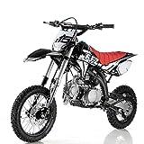 125cc Dirt Bike Pit Bike Adults Dirt Bikes Pit Bikes Youth Dirt Pitbike 125 Dirt Bike,Black
