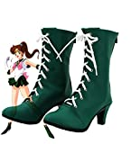 Telacos Sailor Moon Sailor Jupiter Makoto Kino Cosplay Shoes Boots Custom Made