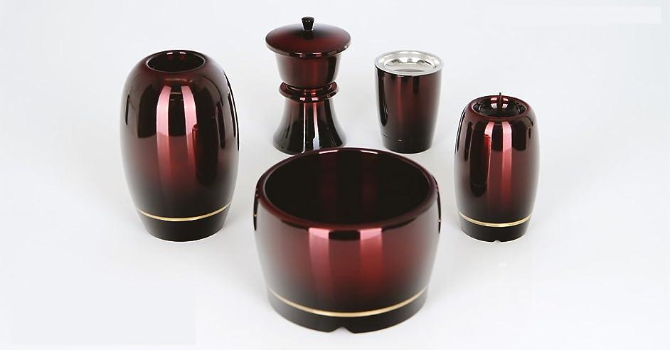 石化する出血中に銅器 筒型 ワインボカシ 金筋 7点セット 3.0寸