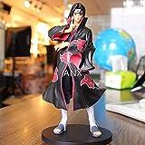 22 cm Naruto Uchiha Itachi Figura PVC acción Anime periférico Unisex película muñeca Modelo Juguete Figura para niños Regalos