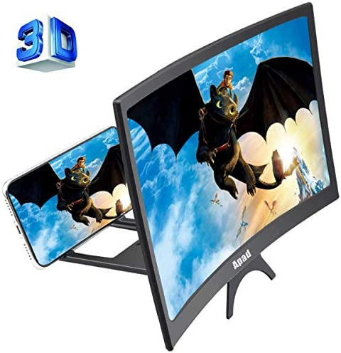 """12"""" 3D Curve Screen Magnifier for Cell..."""