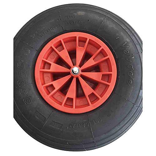 Starco Ersatzrad Rot 3,5x6 Rad für Limex Schubkarre Gartenkarre Baukarre **NEU**
