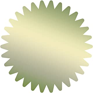 优质纸张! Starburst 金箔证书密封,1.75 英寸,50 片 (901200)