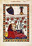 Kunstdruck/Poster: Buchmalerei Zürich Konrad von