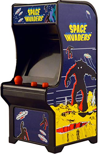 Super Impulse Llavero Tiny Arcade Space Invaders, multicolor (0859421005213)