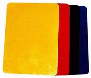 【手品 マジック】クロースアップマット 高級大カードマット 41.5*32cm テーブルマット トランプマット ビロードマット 手品道具 (青)
