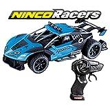 Ninco NincoRacers Raptor. Coche Radio Control Escala 1/16. Bateria y Cargador incluidos. 2.4GHz. +6 años. (NH93166), Color Azul