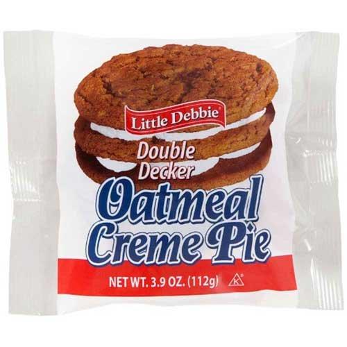 Little Debbie Vending Double Decker lowest price Oatmeal Creme 54 -- Pie Max 48% OFF per
