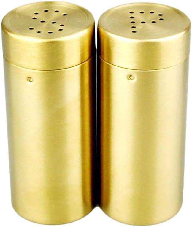 ZJF Golden 35% OFF SP Stainless New arrival Steel Spice Jar Set Seasoning