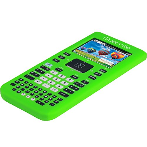 Guerrilla Silicone Case for Texas Instruments TI Nspire CX/CX CAS Graphing Calculator, Green Photo #6