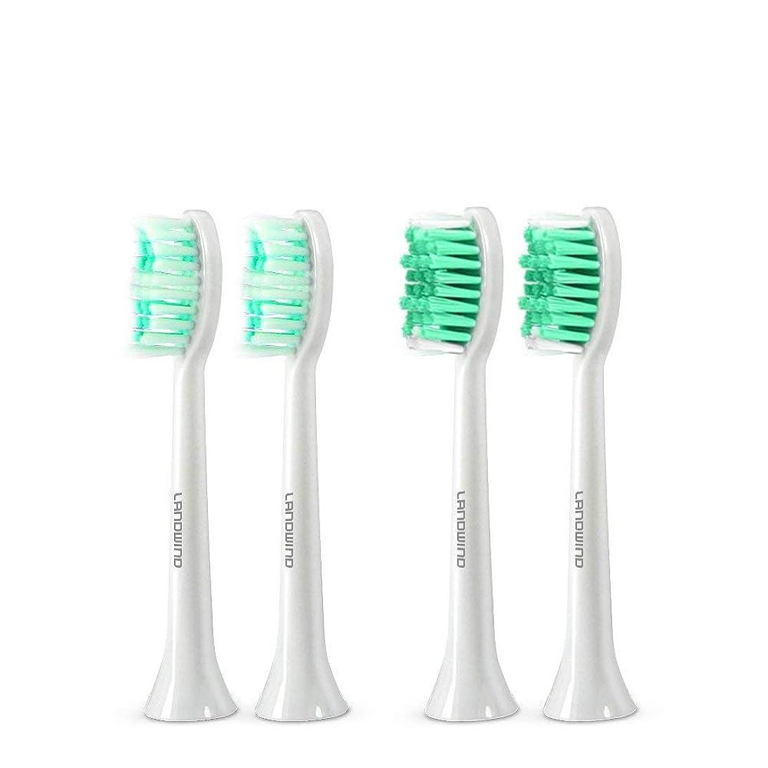 節約配置圧倒的歯ブラシ 替えブラシ4本入り 口内ケアキット 防水&水洗可 ホワイト