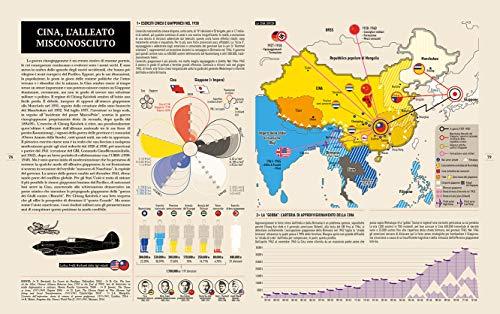 Infografica della seconda guerra mondiale. Ediz. illustrata