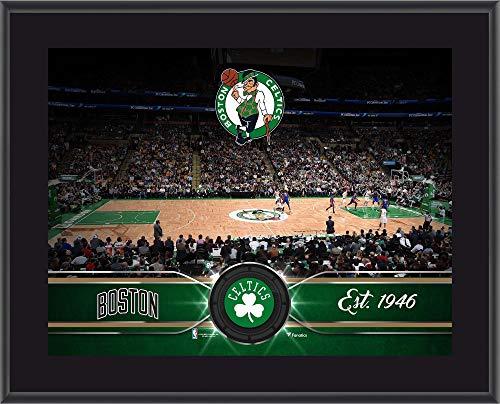 Boston Celtics 10.5' x 13' Sublimated Team Stadium Plaque - NBA Team Plaques and Collages