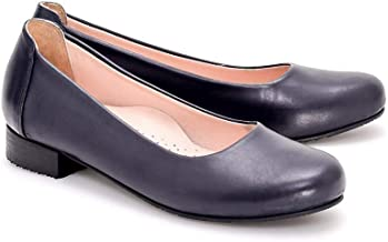 100% Leather Navy Flight Attendant Airline Crew Hospitality Comfort Shoes