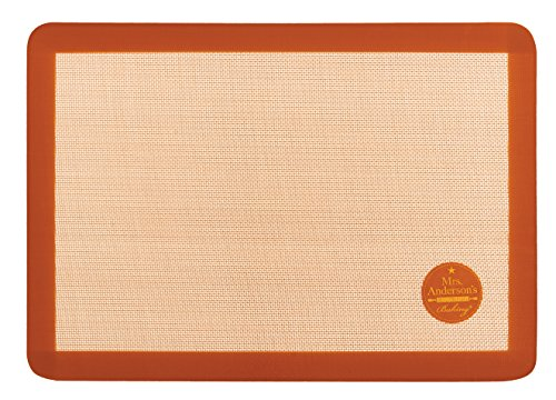 Mrs. Anderson's Baking Non-Stick Silicone Big Baking Mat, 20.5-Inches x 14.5-Inches