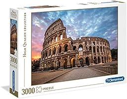 Clementoni Puzzle 3000 Piezas Coliseum, Color (33548.0)