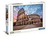 Clementoni- Puzzle 3000 Piezas Coliseum (33548.0)
