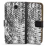 DeinDesign Étui Compatible avec Huawei Y6 II Compact Étui Folio Étui magnétique Animal-Look...